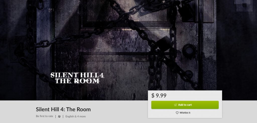 Silent Hill 4: The Room GOG